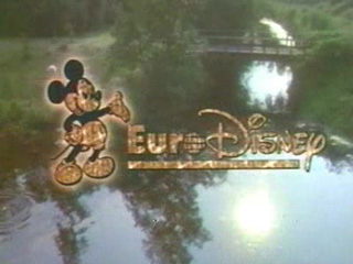 DisneyLand Paris French Ad